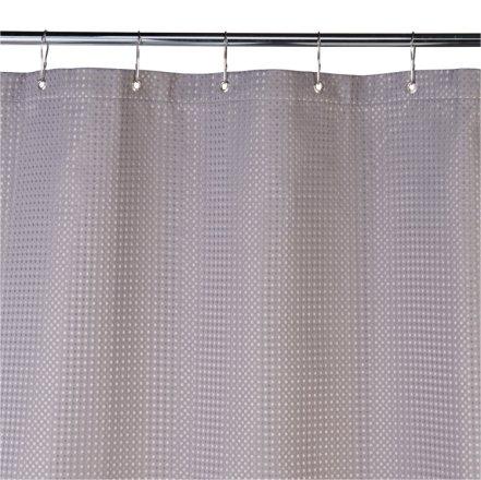 buy argos home shower curtain grey waffle shower curtains argos