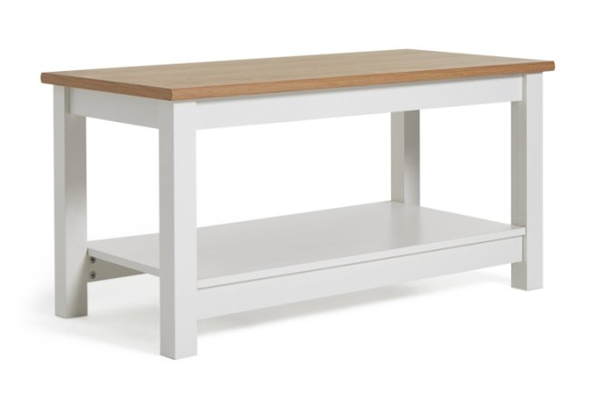 buy habitat winchester coffee table white coffee tables argos
