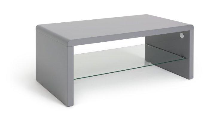 buy habitat sleigh coffee table gloss grey coffee tables argos