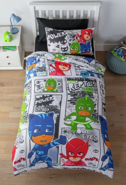 buy pj masks bedding set toddler kids bedding argos