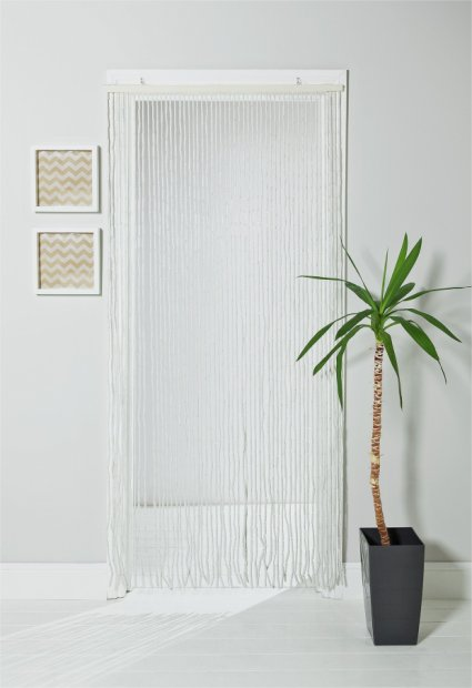 buy argos home beaded door curtain white curtains argos