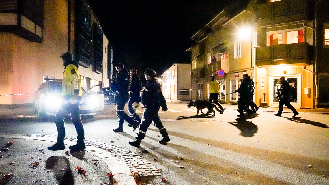 , Man with bow and arrows kills 5 people in Norway, The Evepost National News