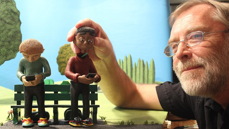 Behind the scene of clay animation with Denver artist | 9news.com