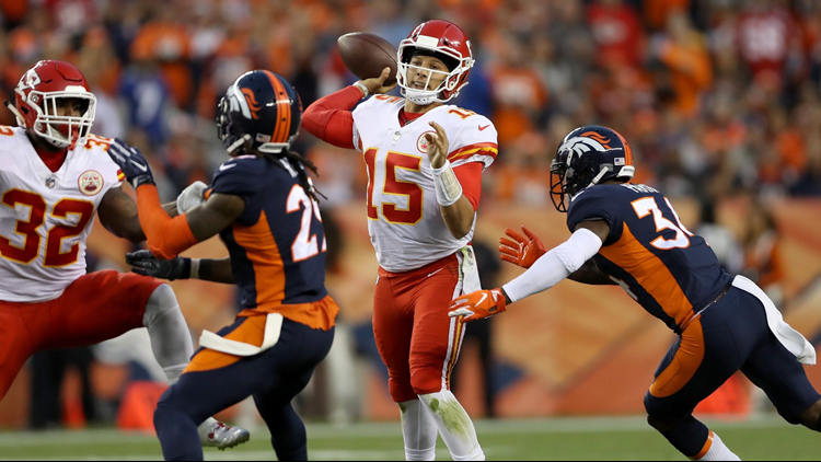 Image result for broncos  vs chiefs