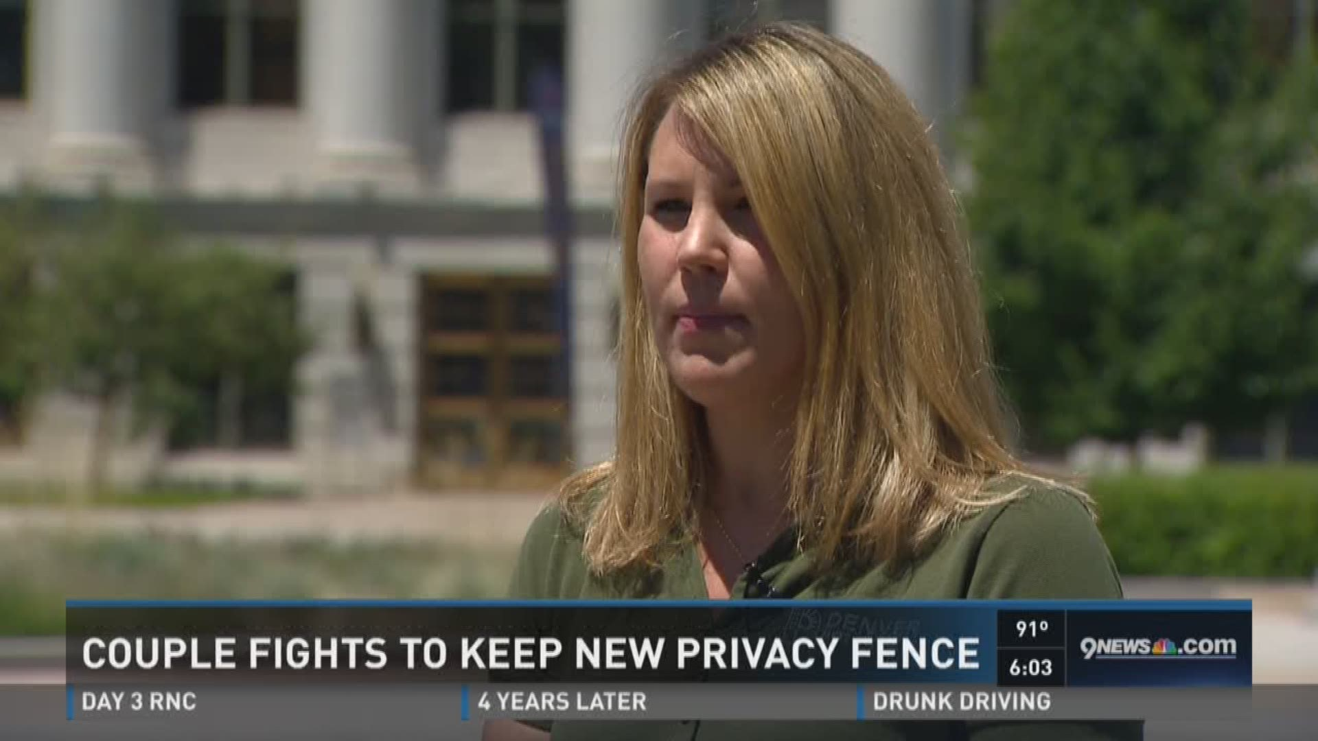 Why A Denver Couple Has To Get Rid Of Their New Fence 9news Com