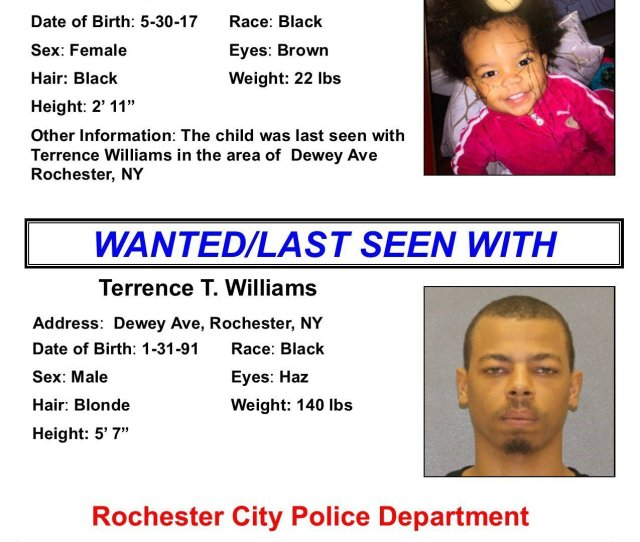 Amber Alert Issued For Abducted Rochester  Month Old Newyorkupstate Com