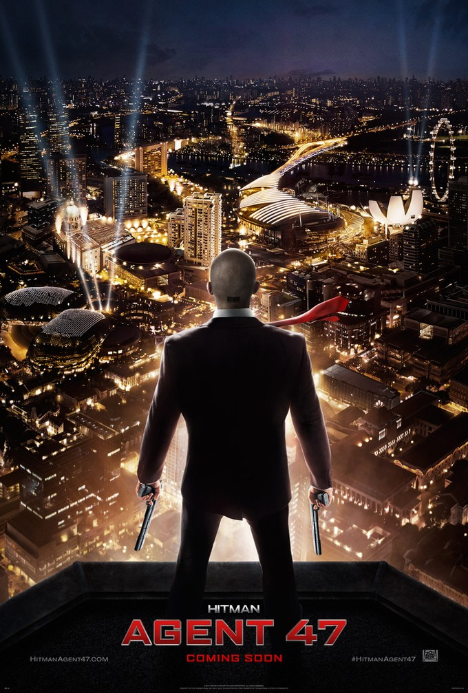 HITMAN: AGENT 47 US poster