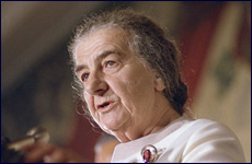 Golda Meir, on the Palestinians