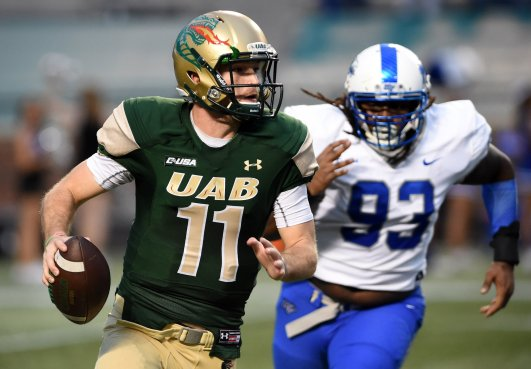 Image result for UAB Blazers vs. Middle Tennessee Blue Raiders