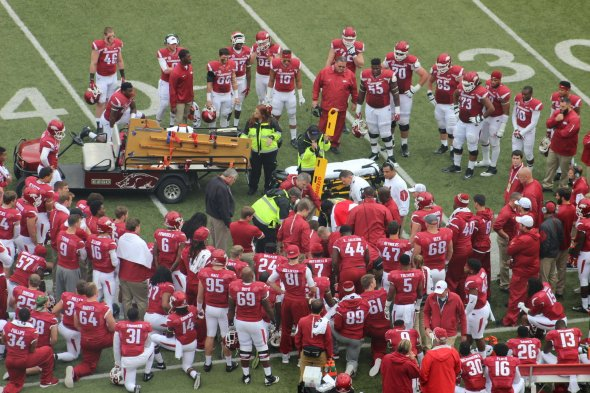 Image result for rawleigh williams III injury