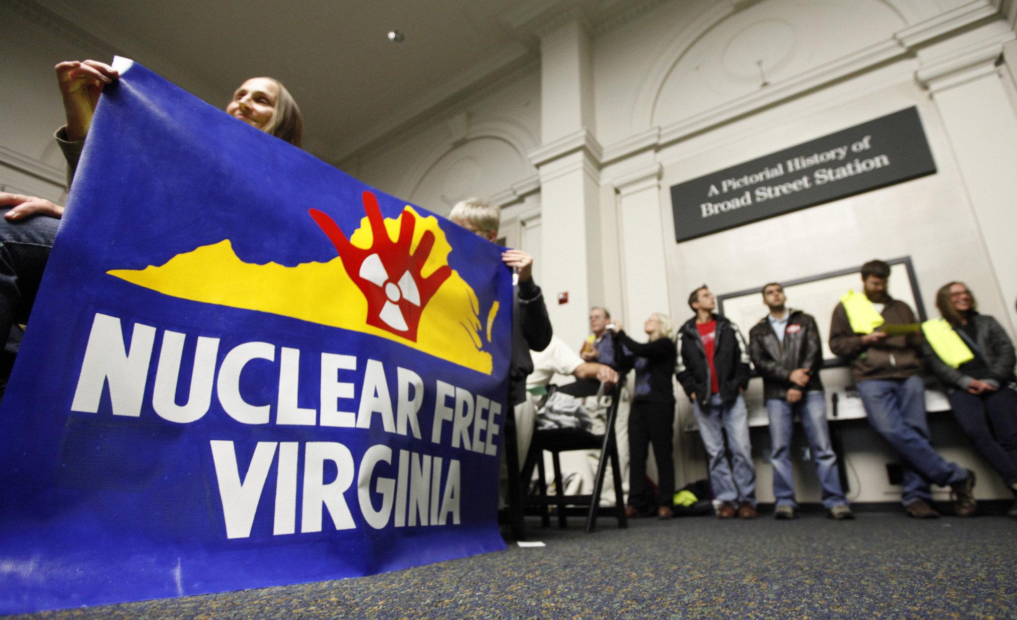 Virginia uranium protest