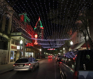 dauphinstreet jpg the christmas lights entertainment district in mobile could be determined next month