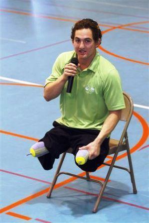 Ultimate Warrior Paralympic Athlete Encourages Orange