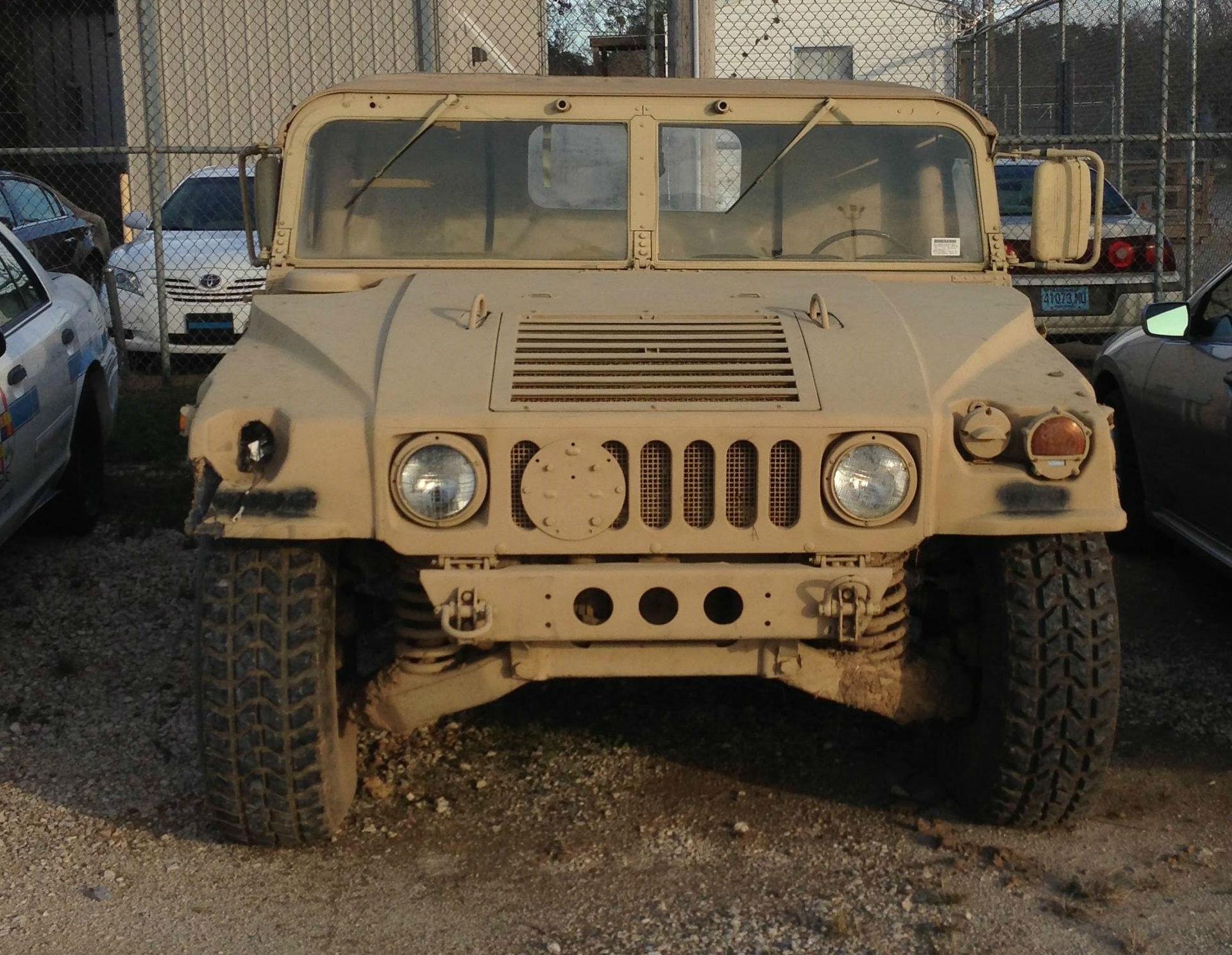 Mobile rakes in assault rifles from military surplus Baldwin