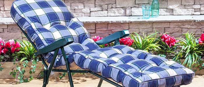 buy sun lounger cushions online