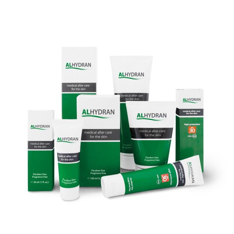 Torr hud, Alhydran, Alhydran SPF Hudbesvär, Hudvårdsprodukt för hudbesvär, Aloe Vera baserad hudvårdsprodukt