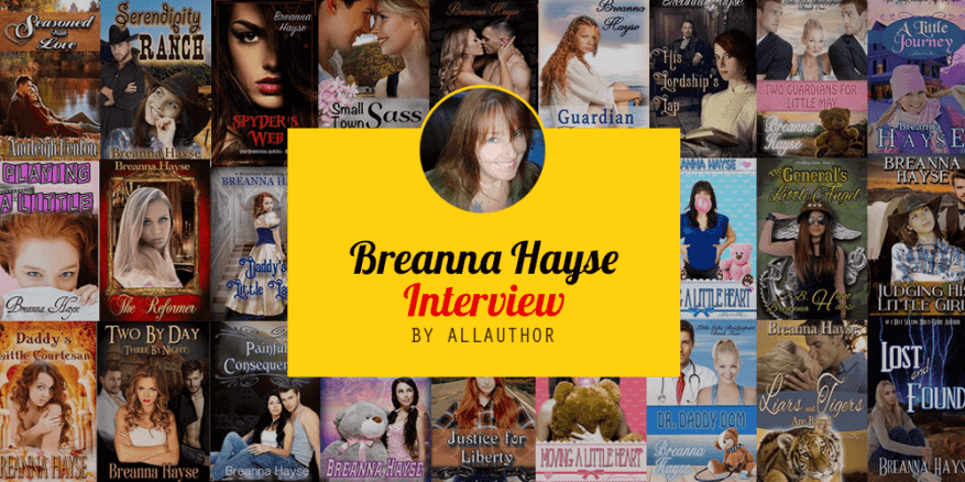 Breanna Hayse latest interview by AllAuthor