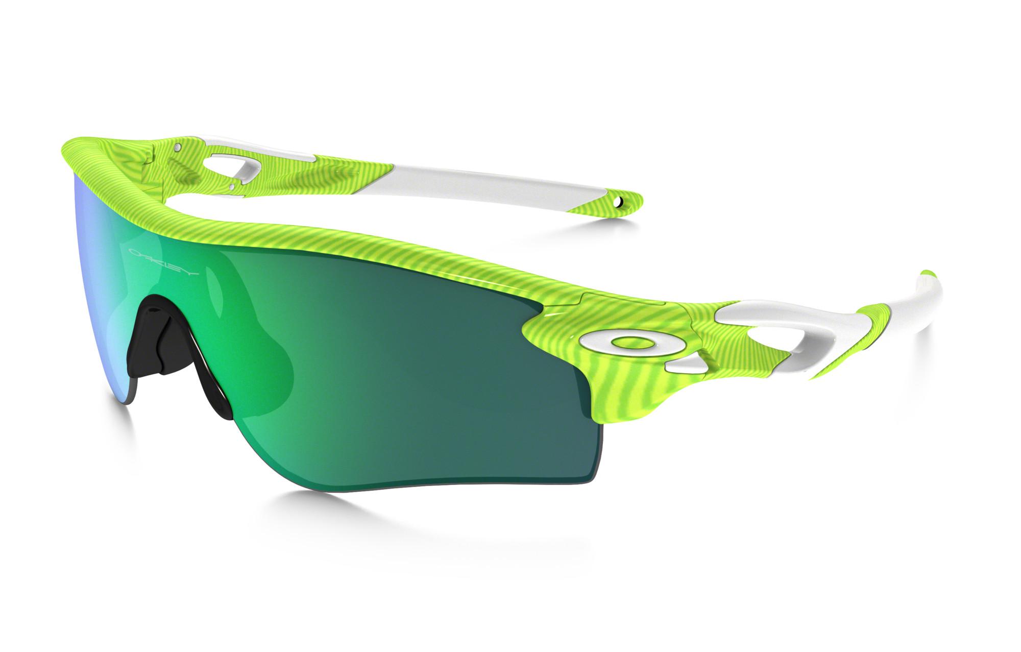 Oakley Radarlock Path Sunglasses Fingerprint Green
