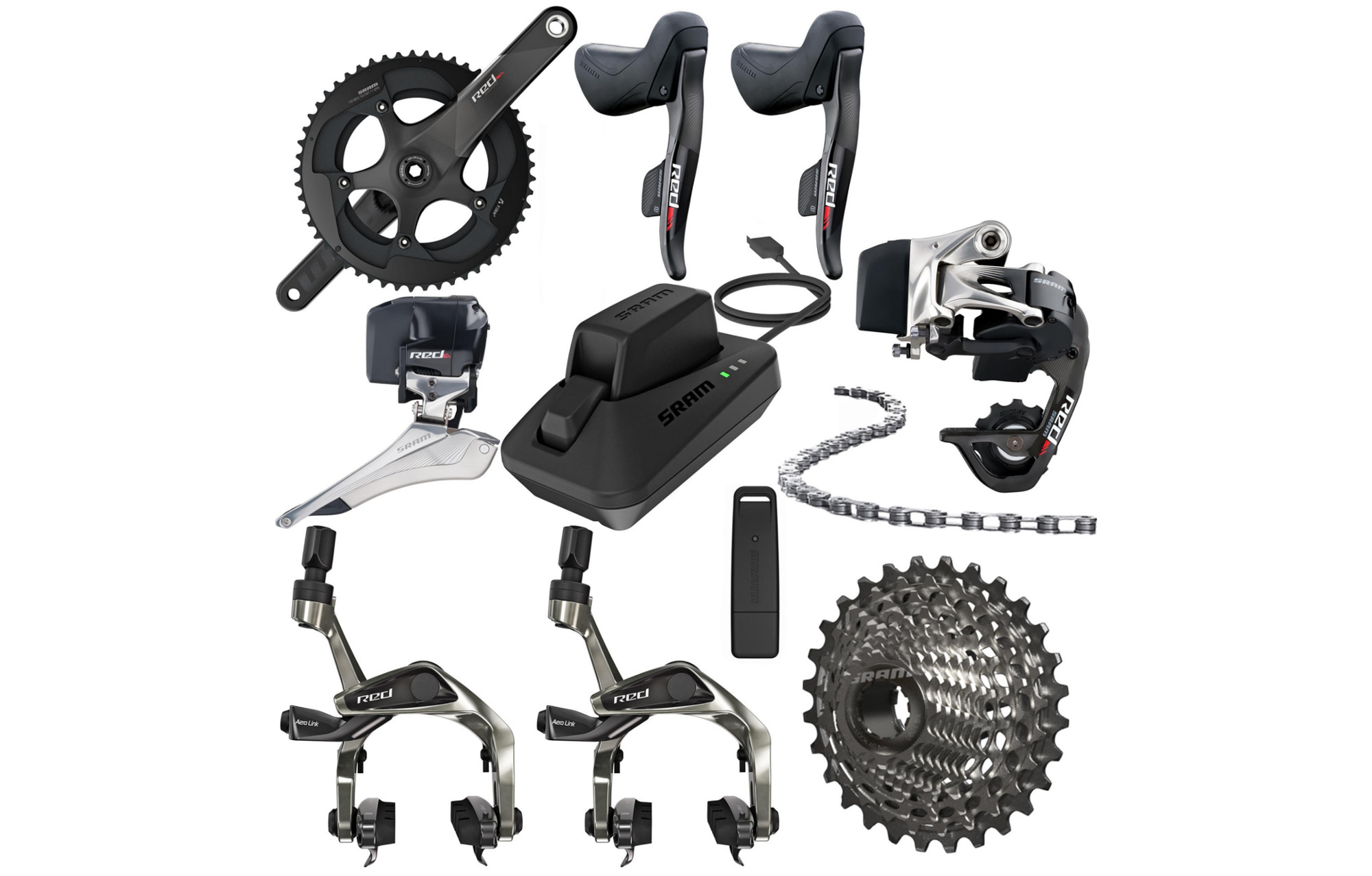 Sram Red E Tap 11 Speed Groupset