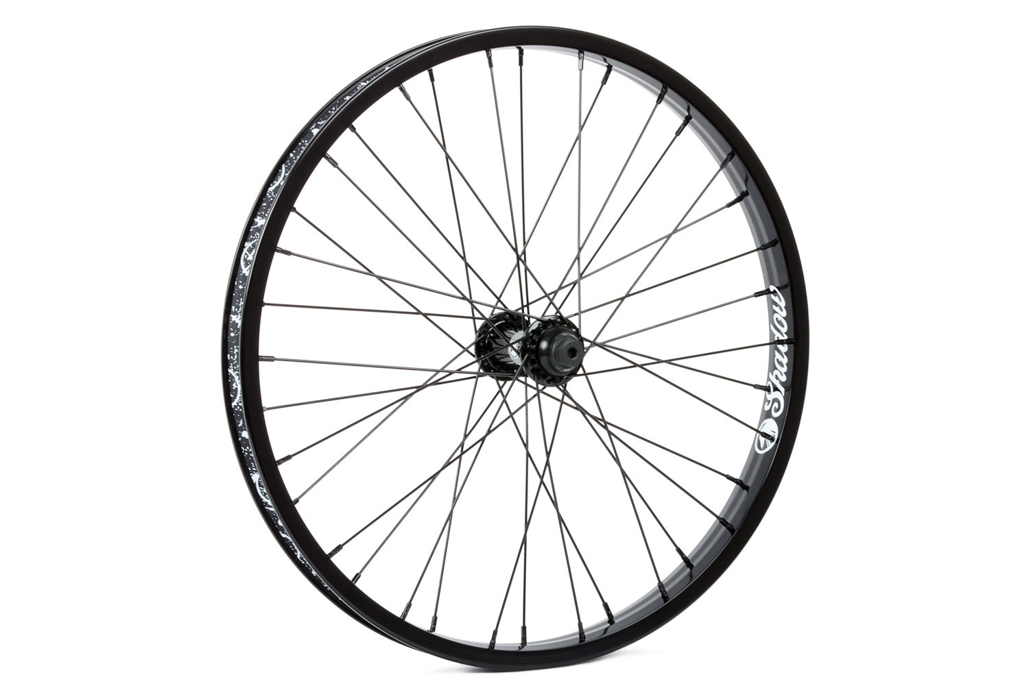 Tsc Corvus Front Wheel Black