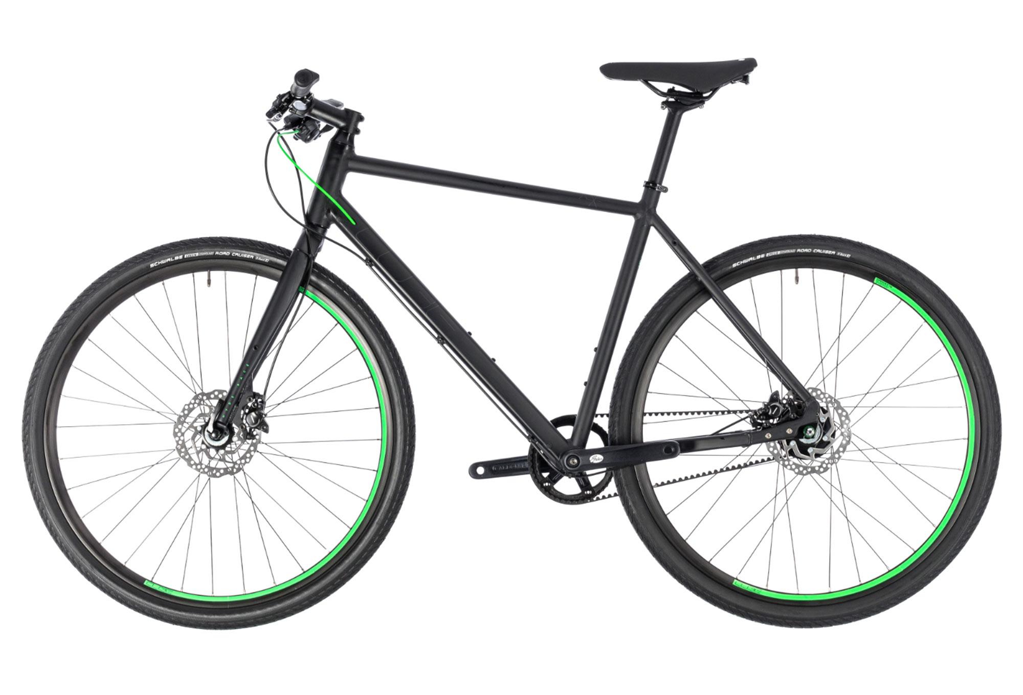 Cube Hyde Race City Bike Shimano Alfine 8s Belt Black