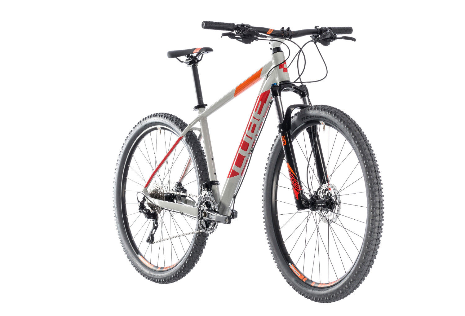 Hardtail Mtb Cube Attention Shimano Deore M 10s 29