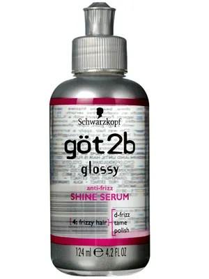 göt2b glossy anti frizz shine serum review allure