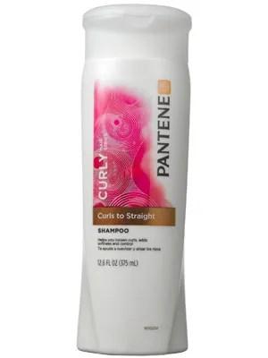 Pantene Pro V Curly Hair Series Curls To Straight Shampoo