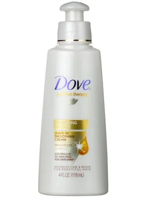 Dove Nourishing Oil Care Leave In Smoothing Cream Review