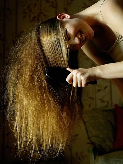 The 12 Most Annoying Thick Hair Problems And Fixes Allure