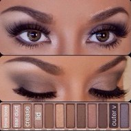 Smoky Eye Urban Decay Naked Palette