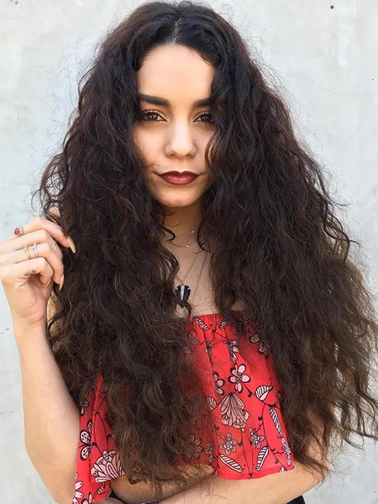 Vanessa Hudgens Coachella Hair Allure