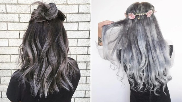 the gray hair trend: 32 instagram-worthy gray ombré