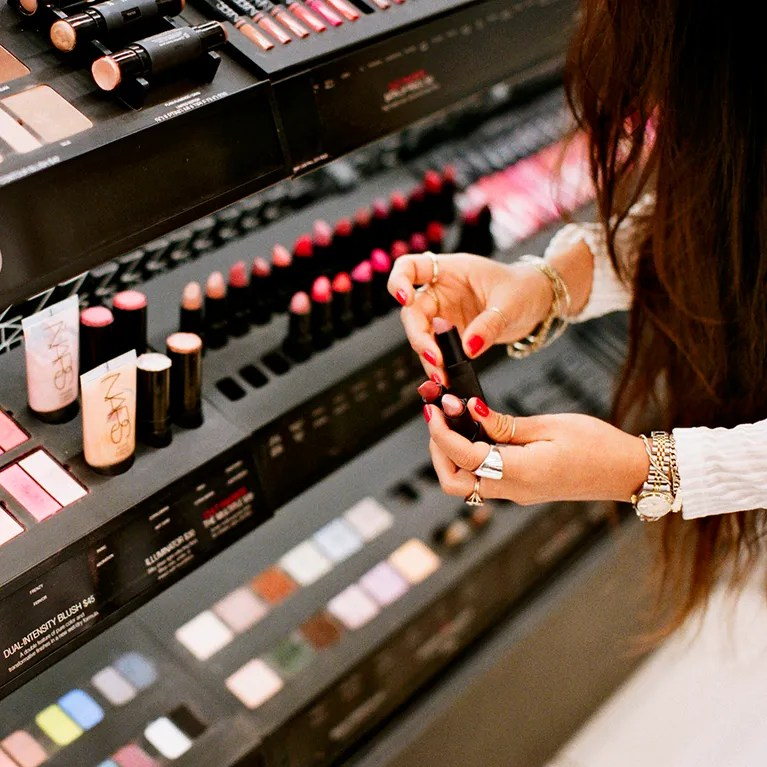 What Happened When One Woman Only Used In Store Makeup