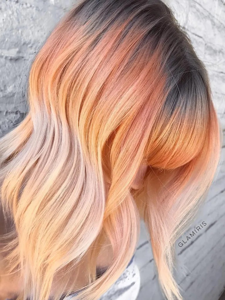 Smoked Peach Hair Is About To Take Over Instagram Allure