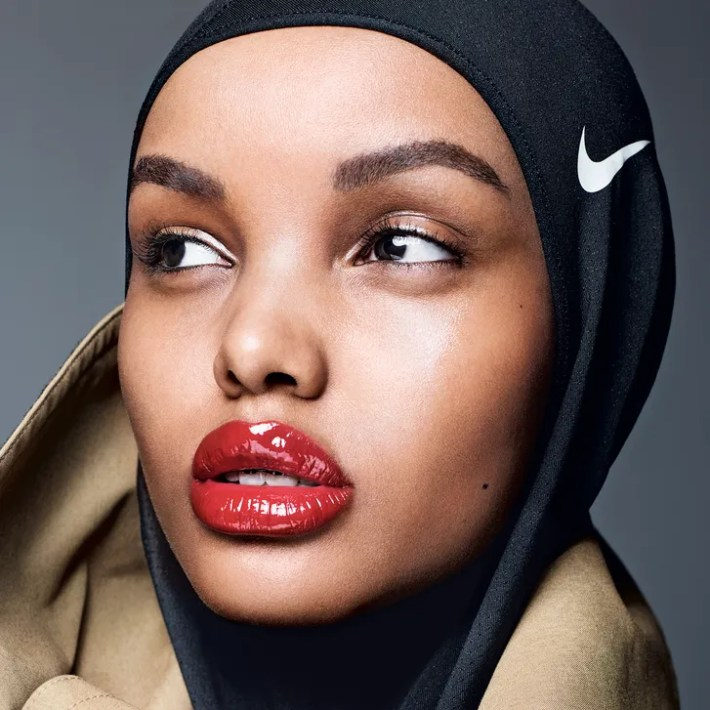 halima aden allure july 2017