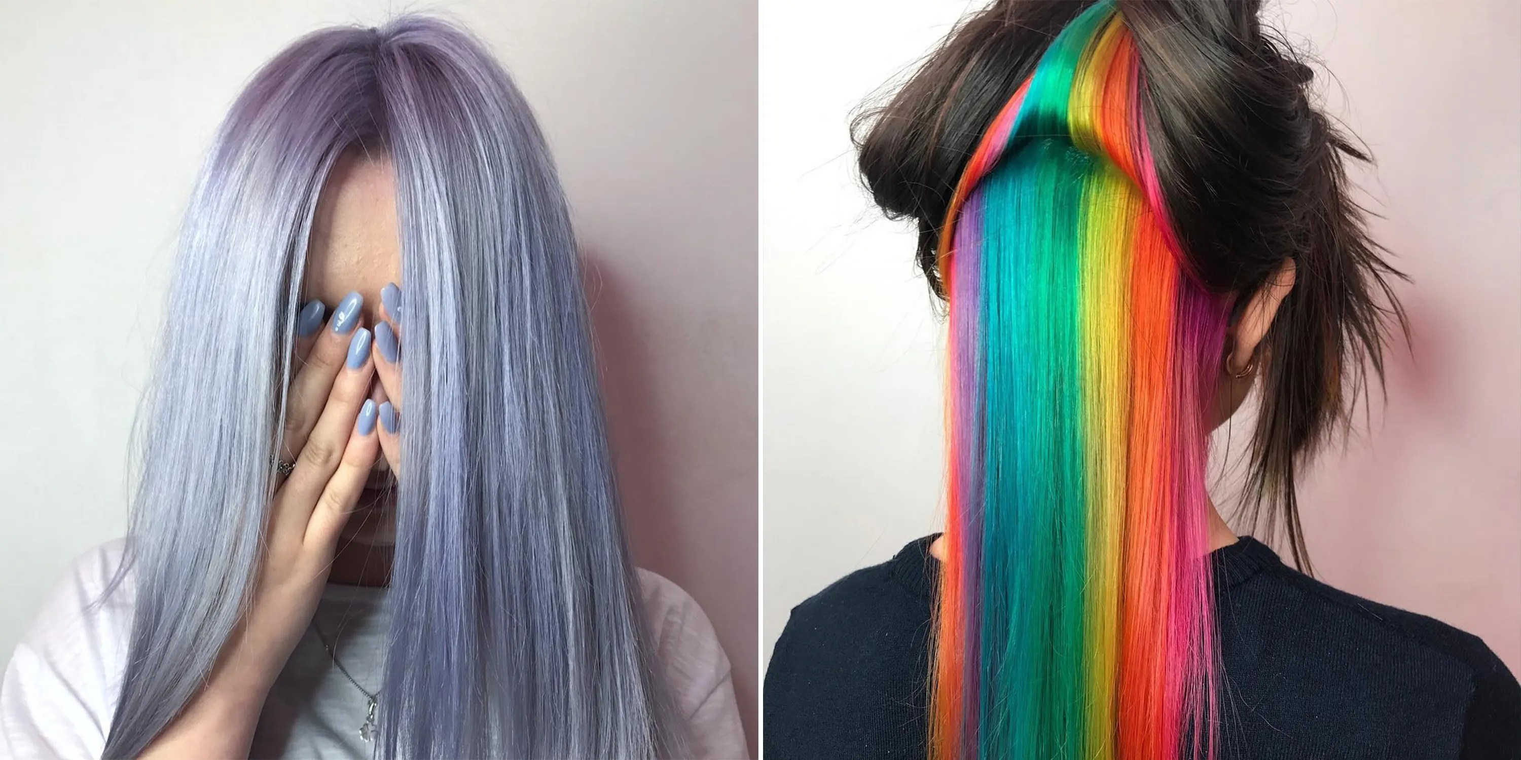 4 Rainbow Hair Color Trends You Need To Know For
