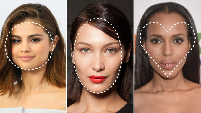 what is my face shape? 3 steps to finding your face shape   allure