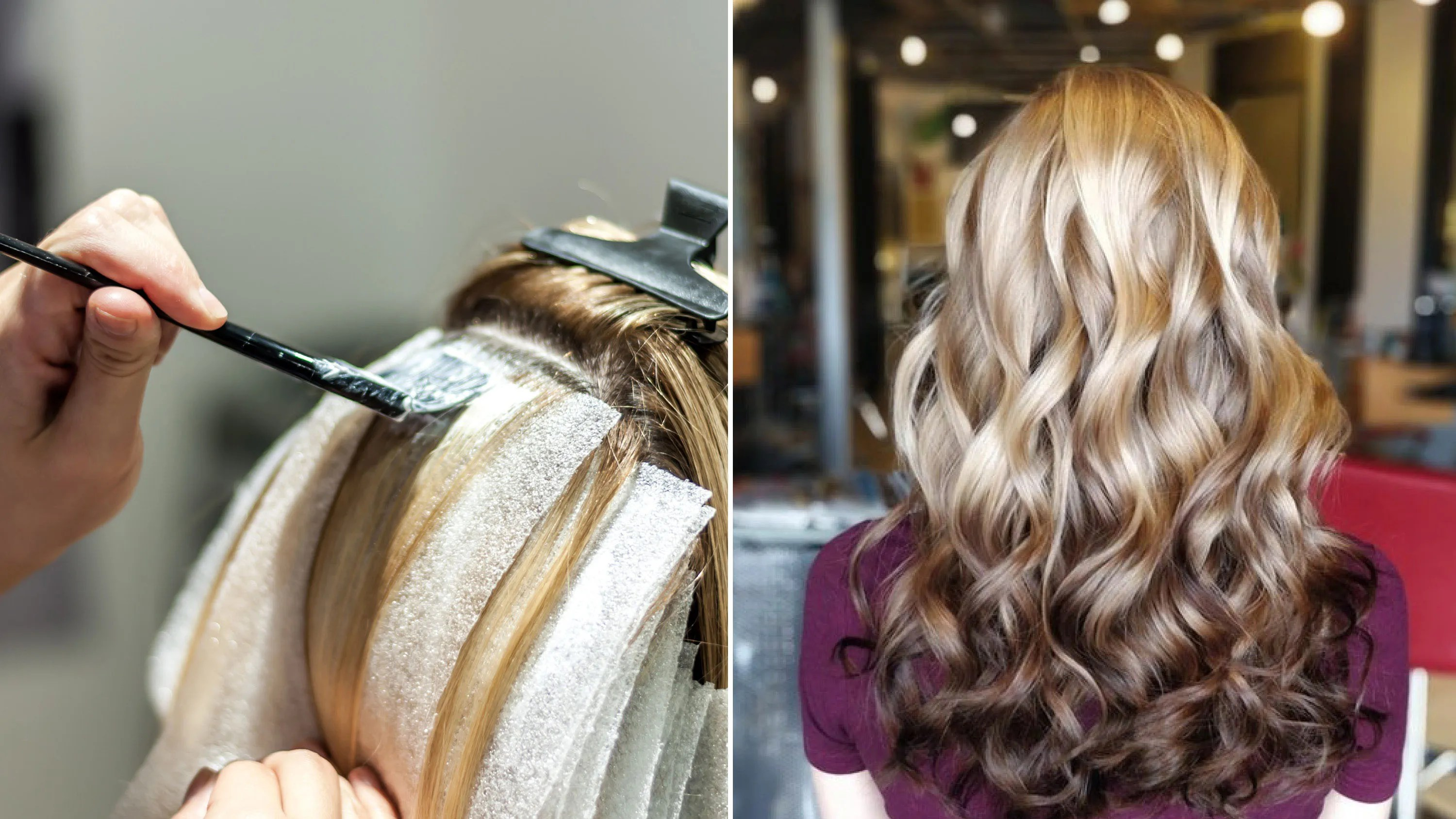 Reverse Brunette Balayage Hair Color Technique Reverse