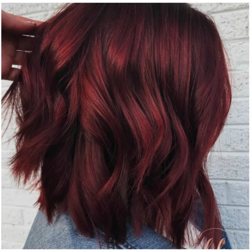 Mulled Wine Hair    Is the Coolest New Hair Color Trend for Winter     Mulled Wine Hair