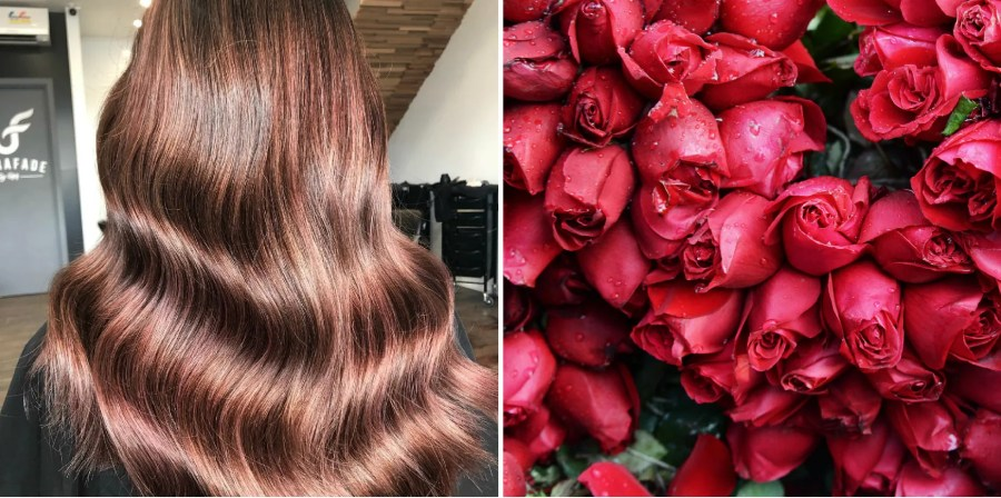 Rose Brown Is the Easy Spring Hair Color Trend for Brunettes   Allure