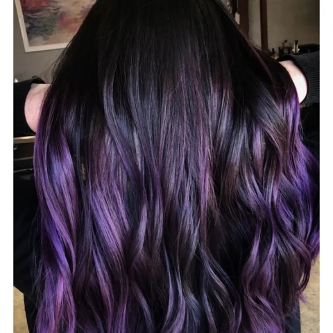 Best New Hair Color Trends of 2018   Allure Blackberry