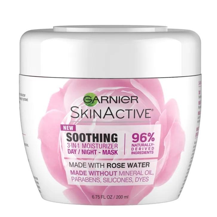 Garnier SkinActive Soothing 3-in-1 Moisturzing Day Night Mask