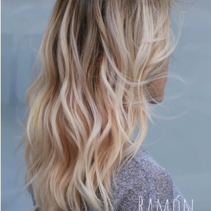 """ghost layers"""" is a new haircut technique from stylist ramòn"""