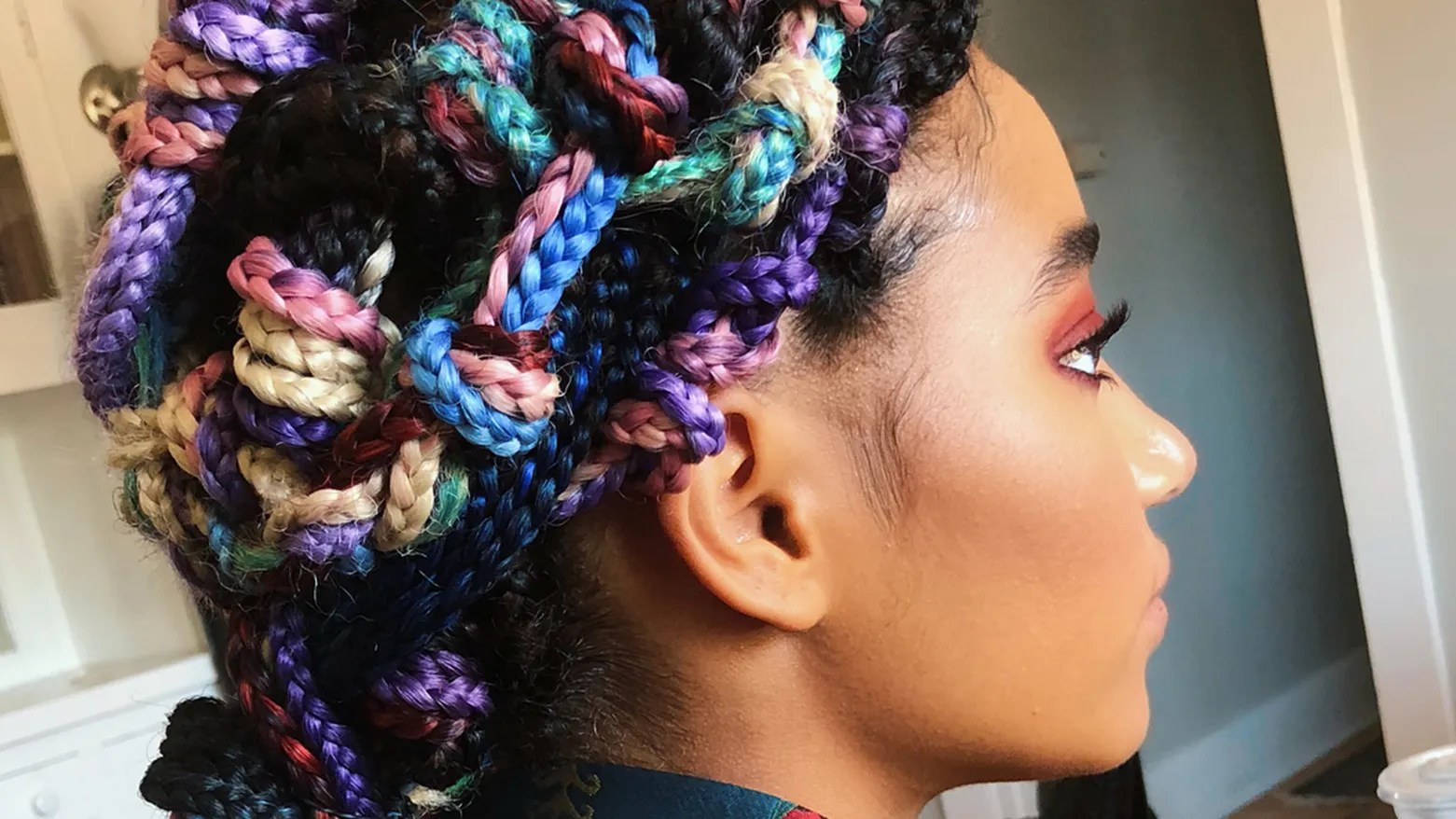16 Dope Box Braids Hairstyles To Try Allure