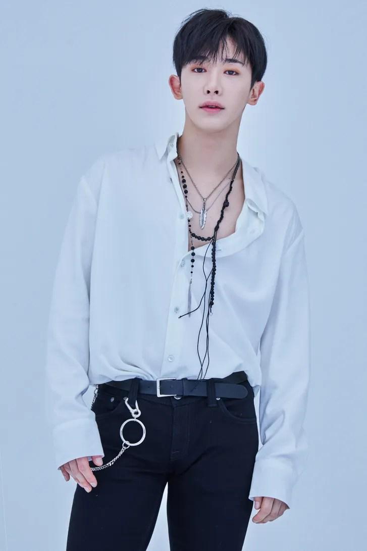 Monsta X Wonho
