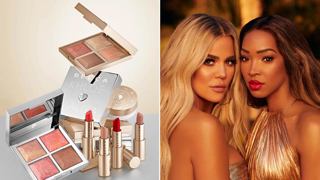 Khlo Kardashian And Malika Haqq On Becca Cosmetics BFFs