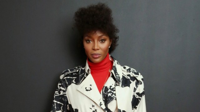naomi campbell shares rare photo of natural hair in cornrows