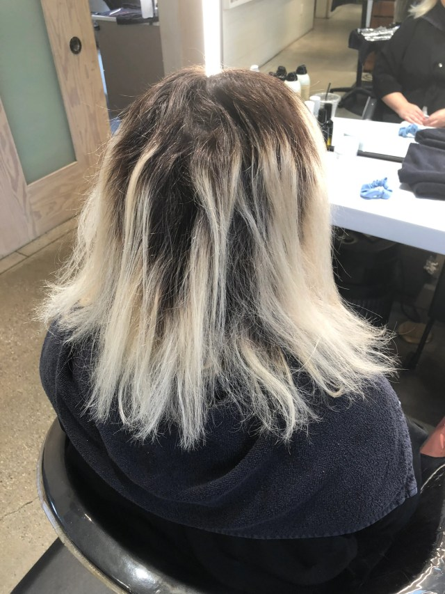 my epic hair-breakage disaster shows the risk of bleaching