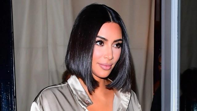 kim kardashian's new bob is her shortest haircut yet